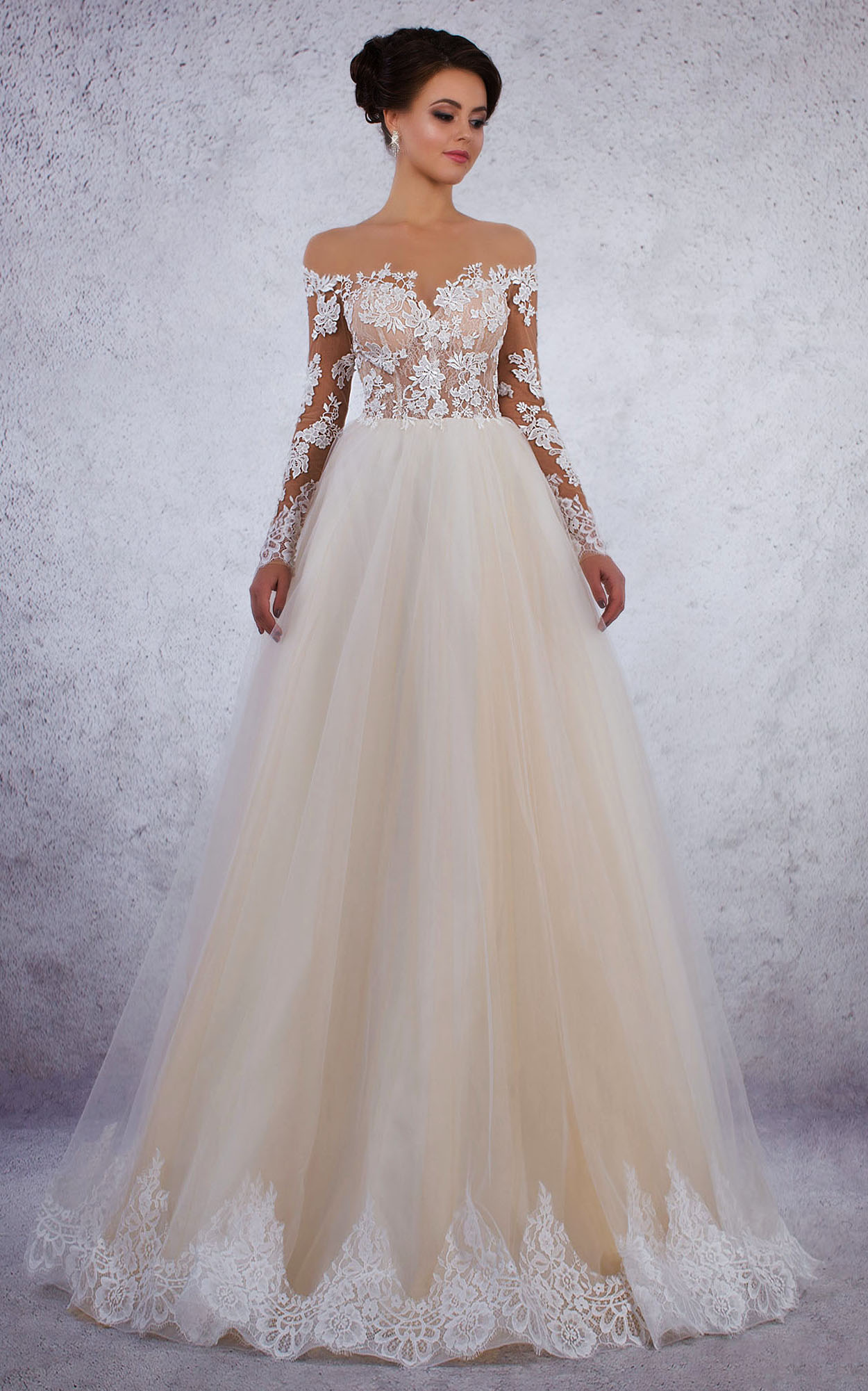 Amelia Rochie De Mireasa Stil Printesa